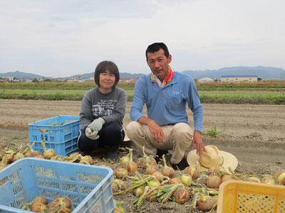 「くにうみ野菜」三和農場について